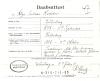 Dåbsattest Helga Andersen Hjortskov